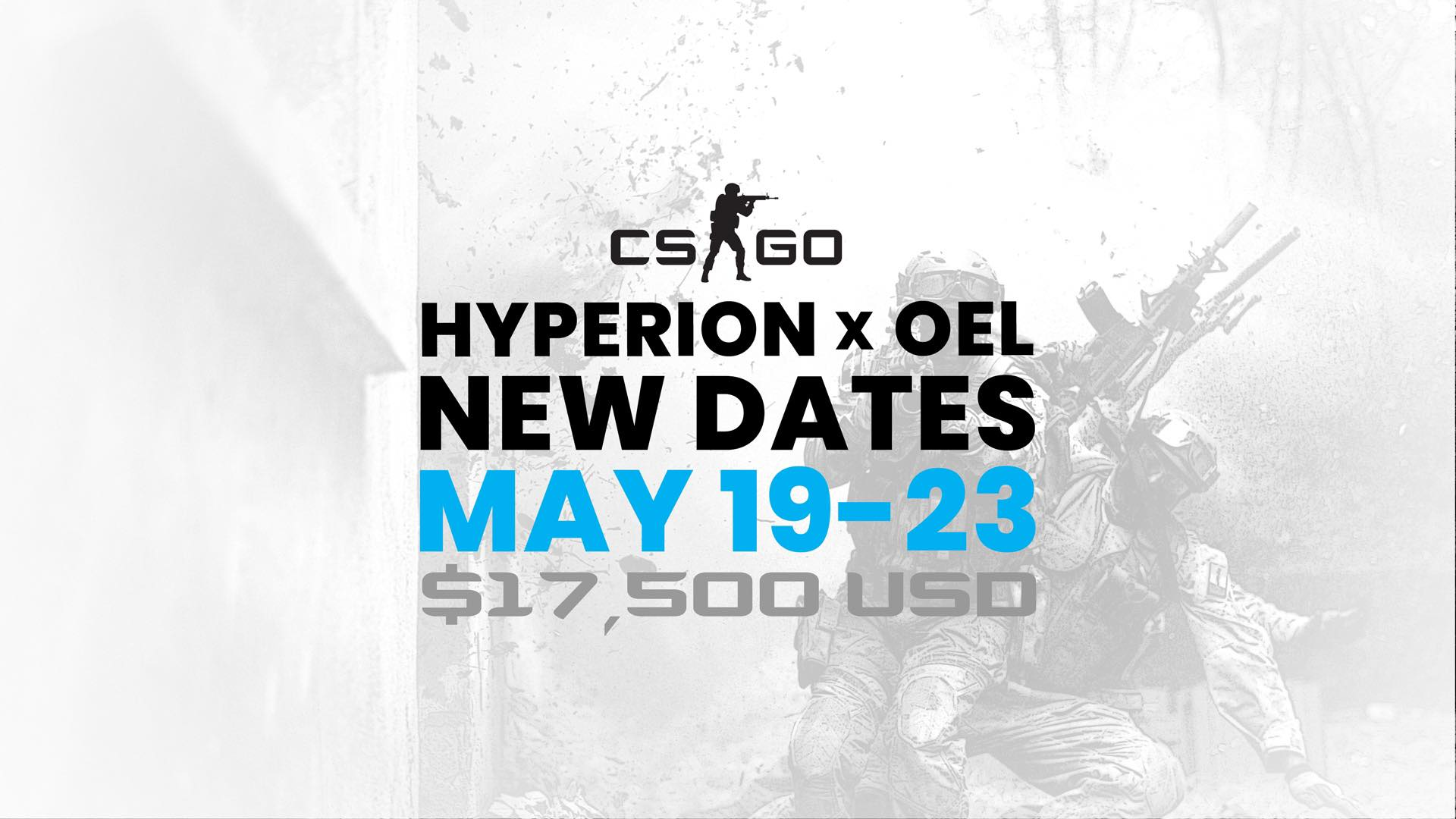 Announcing The Hyperion x OEL CS:GO Launch Date